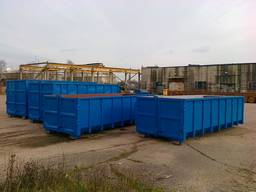 Container for hook-lift systems, Åbne containere