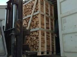 Дрова колотые твердых пород дерева - граб, дуб, ясень - фото 2