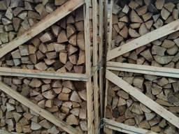 Дрова лиственных пород береза, ольха, осина, микс