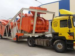 MVS 100M 100m3/hour Mobile Concrete Batching Plant - photo 2