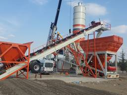 MVS 100M 100m3/hour Mobile Concrete Batching Plant - photo 3
