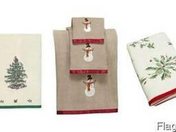 Полотенца Жакард, Промо, Лого, Отель, с вышивкой, Кухонные - фото 3