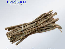 Roots and rhizomes of licorice, cut, 25-40cm.