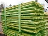 Rounded pine pillars, fences, palisades - photo 1