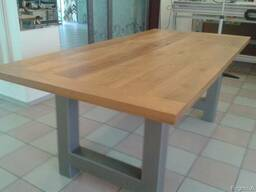 Tables of oak