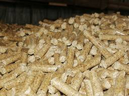 Топливные гранулы пеллеты 8мм
