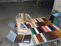 We produce wooden tilt-and- turn windows from conifer - фото 8